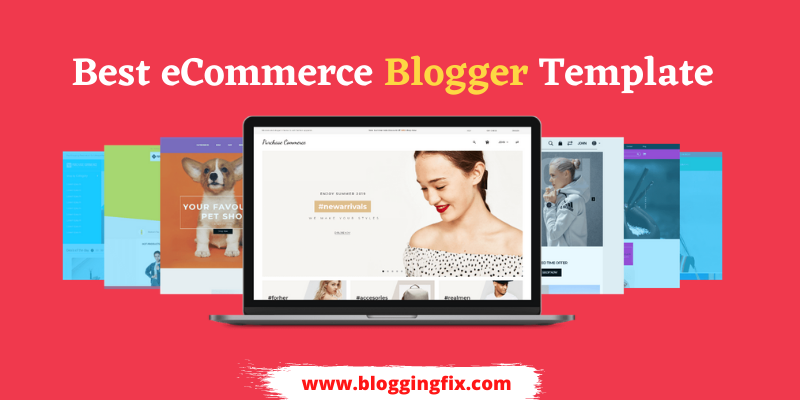 ecommerce blogger template