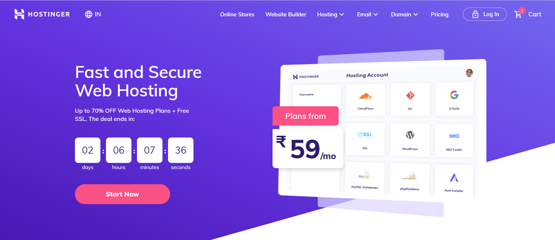 hostinger India Review