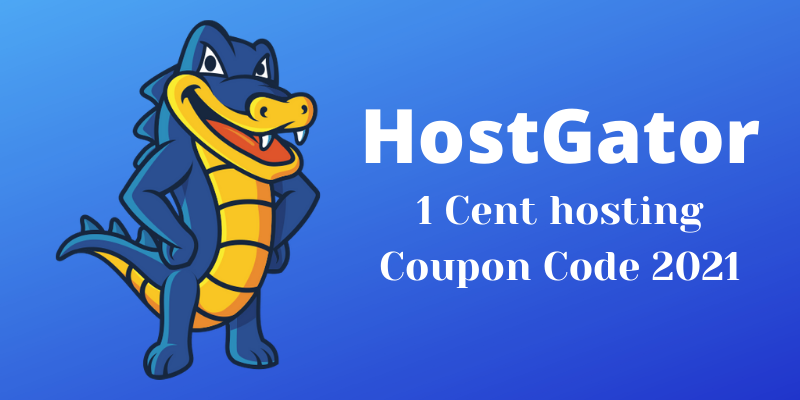 Hostgator 1 Cent