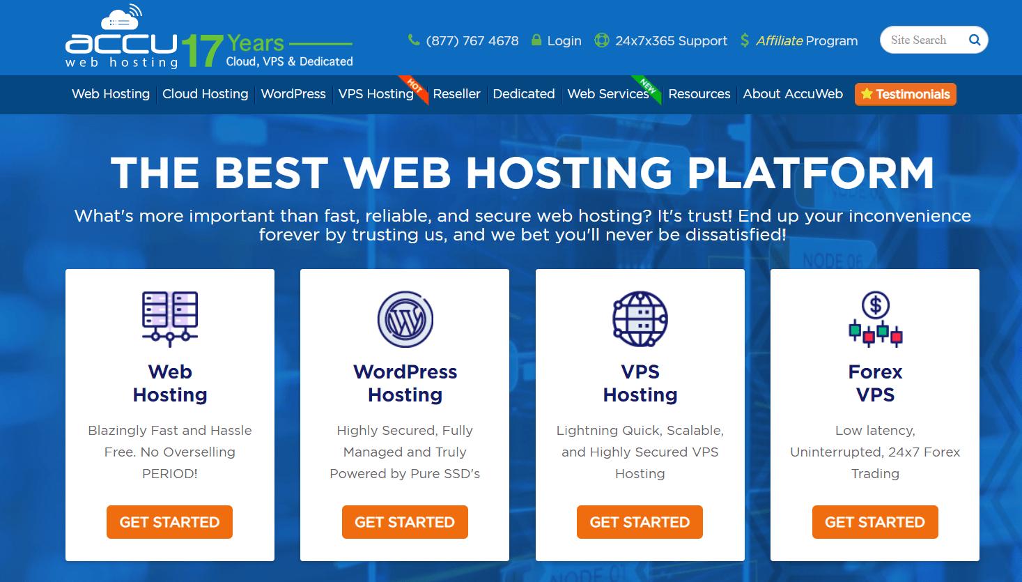 accuwebhosting trial