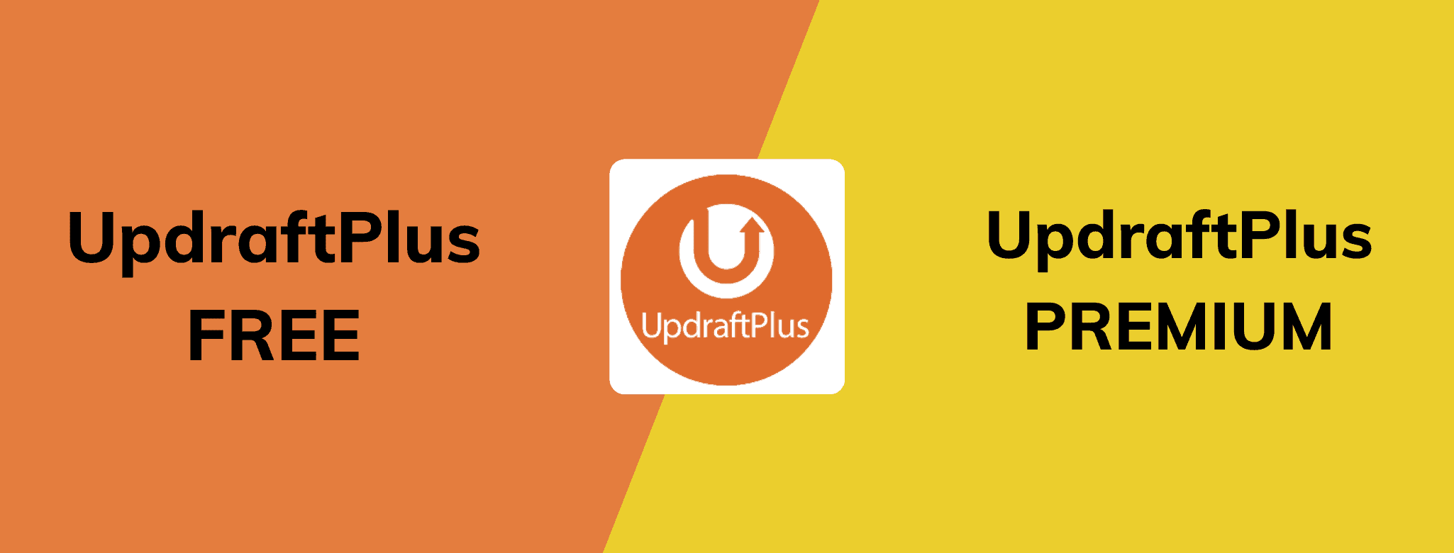UpdraftPlus free vs premium